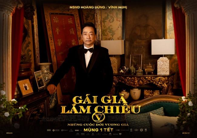 """NSND Lê Khanh, NSND Hồng Vân rực rỡ đầy uy quyền trên poster """"Gái Già Lắm Chiêu V"""" - Ảnh 7."""