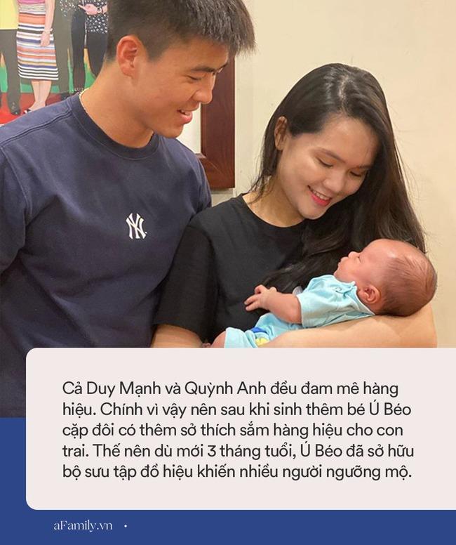 Mới 3 tháng tuổi, quý tử nhà cầu thủ Duy Mạnh đã dát hàng hiệu từ đầu đến chân, bóc giá từng loại mới bất ngờ - Ảnh 9.