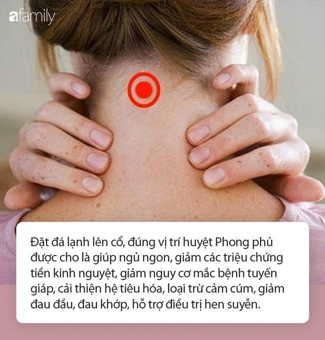Đặt một viên đá lạnh lên cổ, lợi ích nhận được không chỉ là giảm đau, ngủ ngon, là phụ nữ càng nên thử - Ảnh 4.