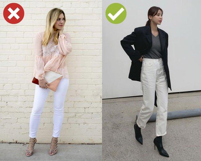 4 kiểu quần jeans có cho cũng không lấy vì diện lên lôi thôi, lỗi mốt và dễ còn tố sạch nhược điểm đôi chân - Ảnh 2.