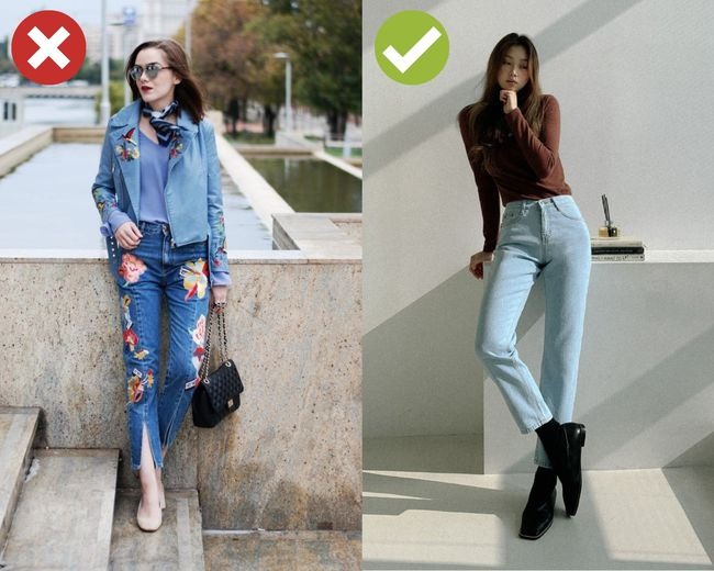 4 kiểu quần jeans có cho cũng không lấy vì diện lên lôi thôi, lỗi mốt và dễ còn tố sạch nhược điểm đôi chân - Ảnh 4.