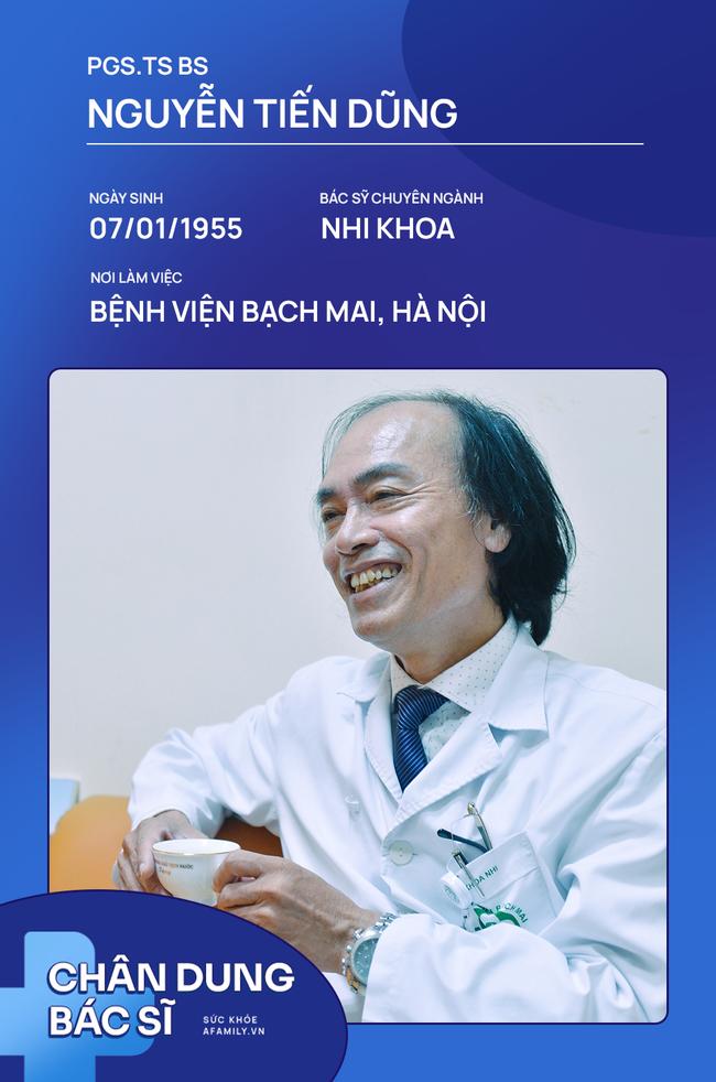 Bác sĩ khoa Nhi chia sẻ chuyện nghề: Ca bệnh ám ảnh nhất trong 40 năm công tác và nỗi niềm đau đáu về tình trạng lạm dụng kháng sinh  - Ảnh 13.