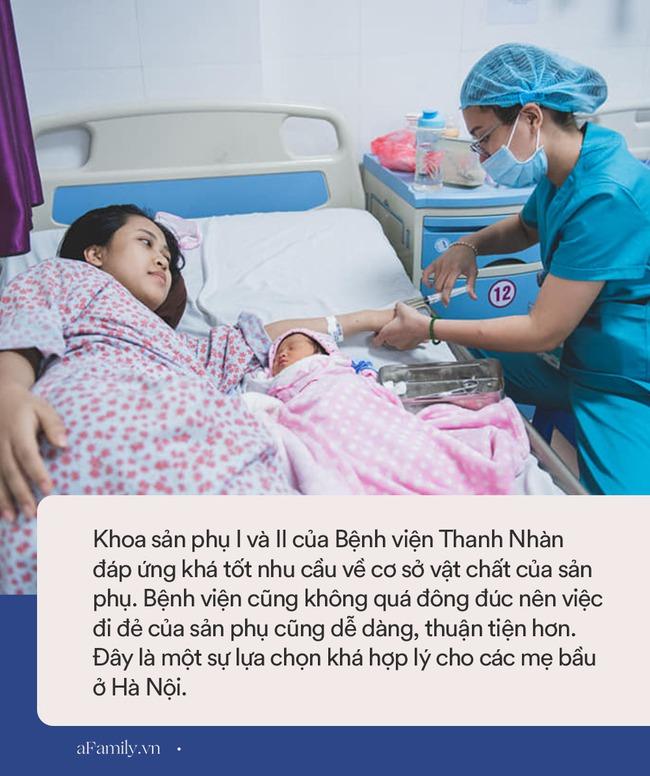 """Nếu ngại đông đúc, mẹ bầu ở Hà Nội có thể chọn sinh con tại bệnh viện này, chi phí """"mềm"""" mà dịch vụ ổn, một hot mom cũng đẻ ở đây - Ảnh 7."""