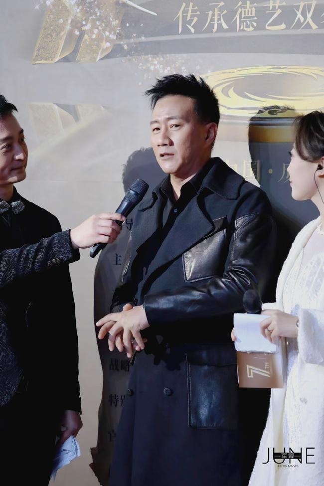 Nam diễn viên gạo cội Hồ Quân vẫn rất phong độ ở tuổi 52.