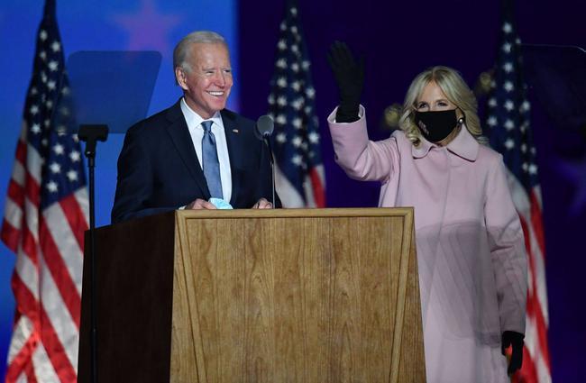 """Sau màn phát biểu tự tin của đối thủ Joe Biden, ông Donald Trump lên tiếng từ Nhà Trắng: """"Chúng ta đã chiến thắng!"""" - Ảnh 2."""