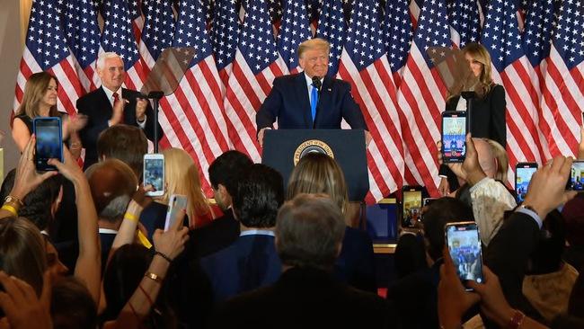 """Ông Donald Trump phát biểu từ Nhà Trắng: """"Chúng ta đã chiến thắng!"""" - Ảnh 3."""