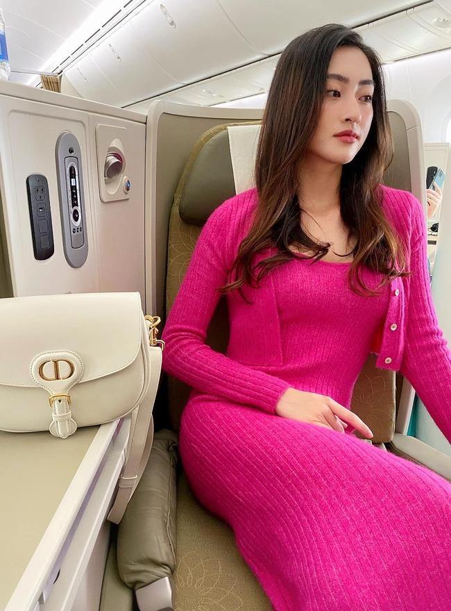 """Lương Thùy Linh nói: """"Em không cần mặc đẹp vì anh thích lôi thôi. Nhưng em cứ mặc đẹp anh không thích thì thôi""""."""