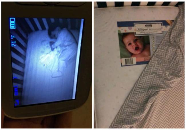 Được nhờ đến trông cháu, cô gái trẻ hoảng sợ nhìn thấy cảnh tượng trong cũi khi đứa trẻ ngủ chúc đầu xuống giường, phải cầu cứu dân mạng - Ảnh 10.