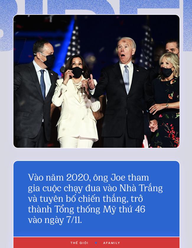 Chân dung ông Joe Biden, người vừa chiến thắng ông Donald Trump, đắc cử Tổng thống Mỹ 2020 - Ảnh 10.