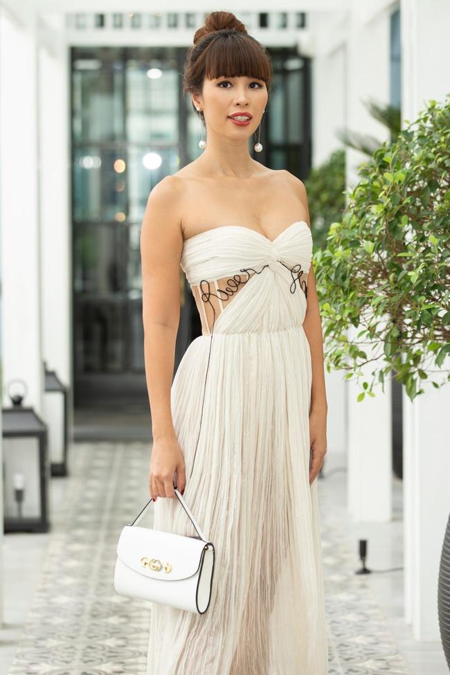 Trương Ngọc Ánh hội ngộ cùng Hoa hậu Hà Kiều Anh trong buổi tiệc trà chia sẻ bí quyết sống khỏe của Đoan Trang - Ảnh 4.
