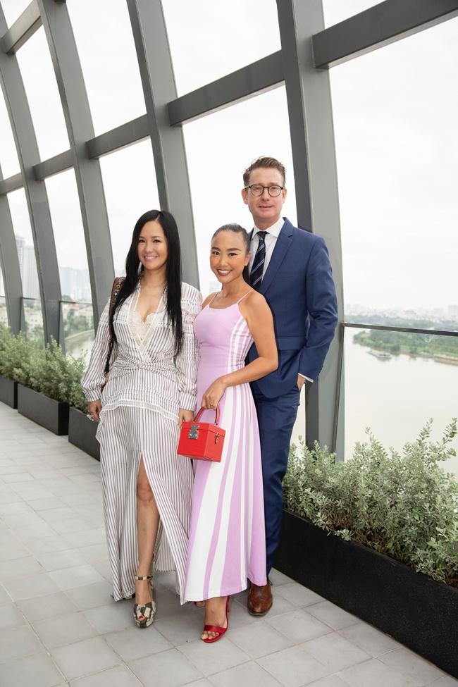 Trương Ngọc Ánh hội ngộ cùng Hoa hậu Hà Kiều Anh trong buổi tiệc trà chia sẻ bí quyết sống khỏe của Đoan Trang - Ảnh 3.