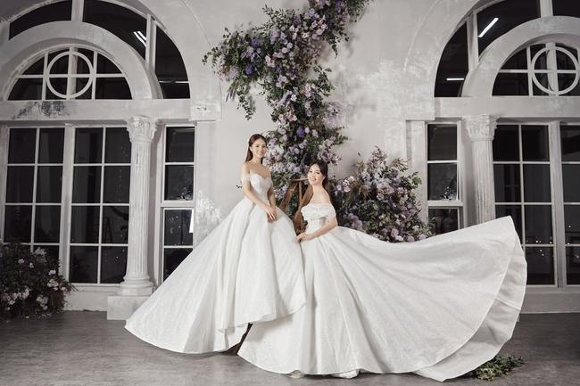 Thụy Vân tiết lộ sẽ chọn váy cưới cho Ngọc Hà - bạn gái NSND Công Lý - Ảnh 1.