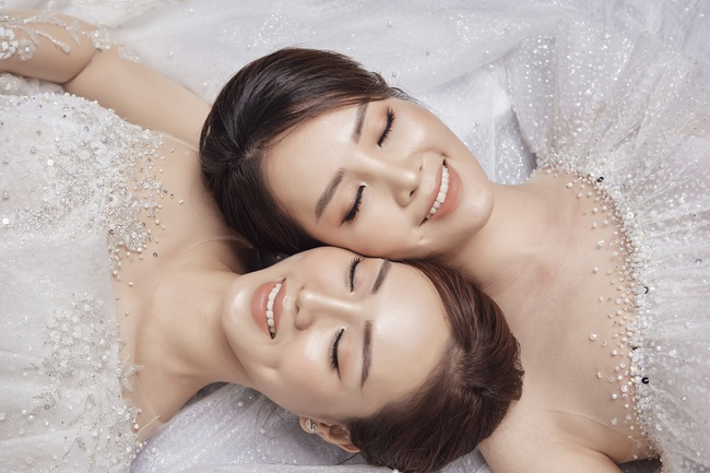 Thụy Vân tiết lộ sẽ chọn váy cưới cho Ngọc Hà - bạn gái NSND Công Lý - Ảnh 6.