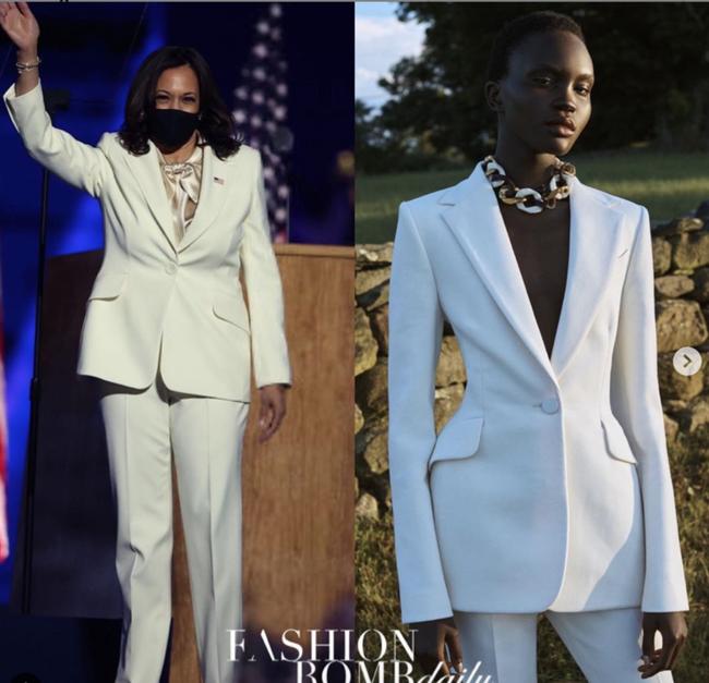 """Ý nghĩa bất ngờ cùng """"thông điệp ngầm"""" phía sau bộ vest trắng Phó Tổng thống Mỹ đắc cử mặc trong bài phát biểu đầu tiên, không chỉ đơn thuần là thời trang - Ảnh 5."""