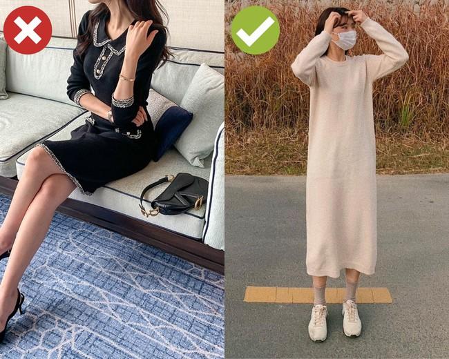 """3 mẫu váy bán đầy vào mùa lạnh nhưng chị em chớ dại mà mua, diện lên kiểu gì cũng """"già đau già đớn"""" - Ảnh 2."""