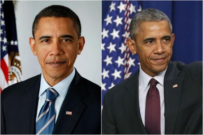 """Chùm ảnh nhan nhắc thay đổi """"chóng mặt"""" của các vị tổng thống Mỹ qua các nhiệm kỳ, làm ông chủ Nhà Trắng thực sự rất áp lực? - Ảnh 19."""
