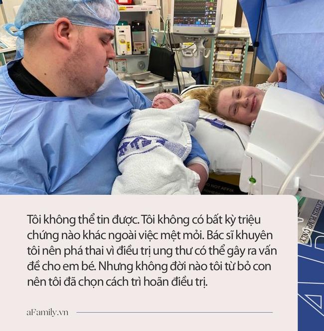 Đã sẩy thai một lần, đến khi mang thai 16 tuần thì phát hiện bị ung thư, bác sĩ khuyên bỏ thai nhưng người mẹ trẻ nhất quyết làm việc này - Ảnh 3.