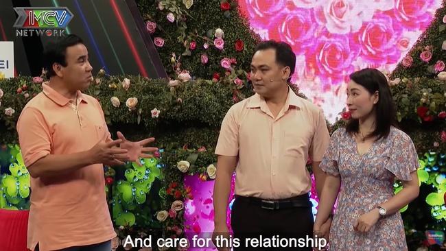 """""""Bạn muốn hẹn hò"""": Bà mẹ một con nói đúng 1 câu mà khiến nam chính run lẩy bẩy, Quyền Linh phải ra tay trợ giúp - Ảnh 5."""