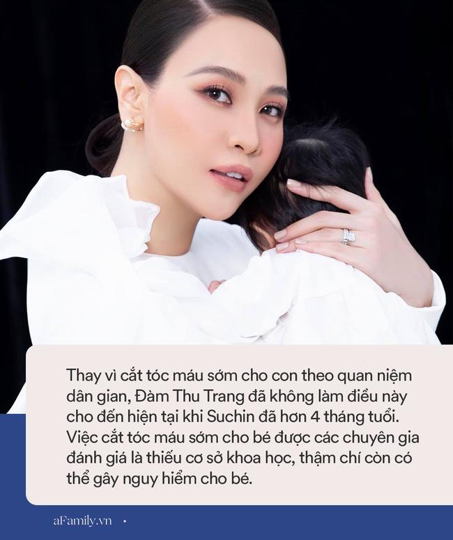 Đàm Thu Trang chưa làm một việc cho con mà các mẹ khác thường làm từ sớm, để lộ trình độ hiểu biết trong việc nuôi con - Ảnh 3.
