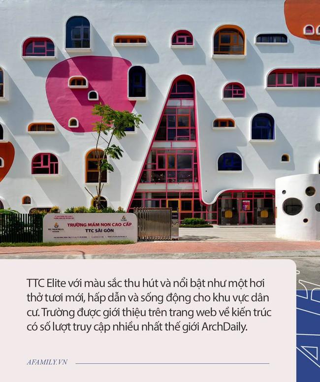 3 trường mầm non có kiến trúc siêu độc đáo ở TP.HCM, con đi học mà tưởng ở resort, bố mẹ vừa nhìn đã muốn đăng kí ngay - Ảnh 3.