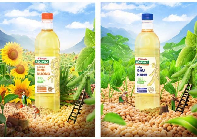 Bắt xu hướng ăn healthy chuẩn như Khánh Linh cùng bộ đôi dầu ăn 100% nguyên liệu tự nhiên Tường An Marvela - Ảnh 2.