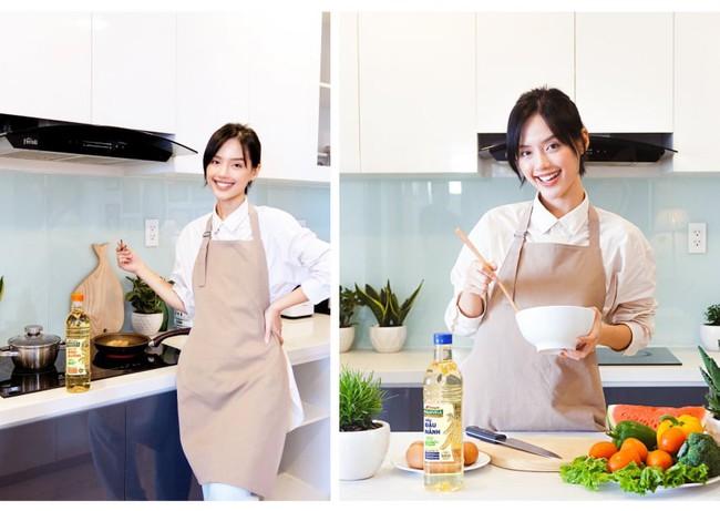 Bắt xu hướng ăn healthy chuẩn như Khánh Linh cùng bộ đôi dầu ăn 100% nguyên liệu tự nhiên Tường An Marvela - Ảnh 1.