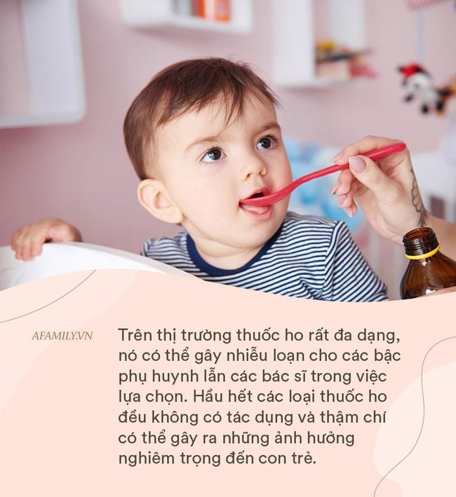 Bác sĩ Nhi khuyến cáo các loại thuốc ho có thể dùng cho trẻ tại nhà mà không cần bác sĩ kê đơn - Ảnh 1.