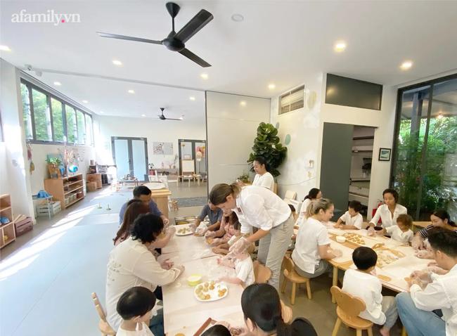 """""""Ngôi trường trong mơ"""" mới toanh giữa trung tâm Sài Gòn, cả không gian là một tác phẩm nghệ thuật, thức ăn được bày trí như khách sạn 5 sao - Ảnh 2."""