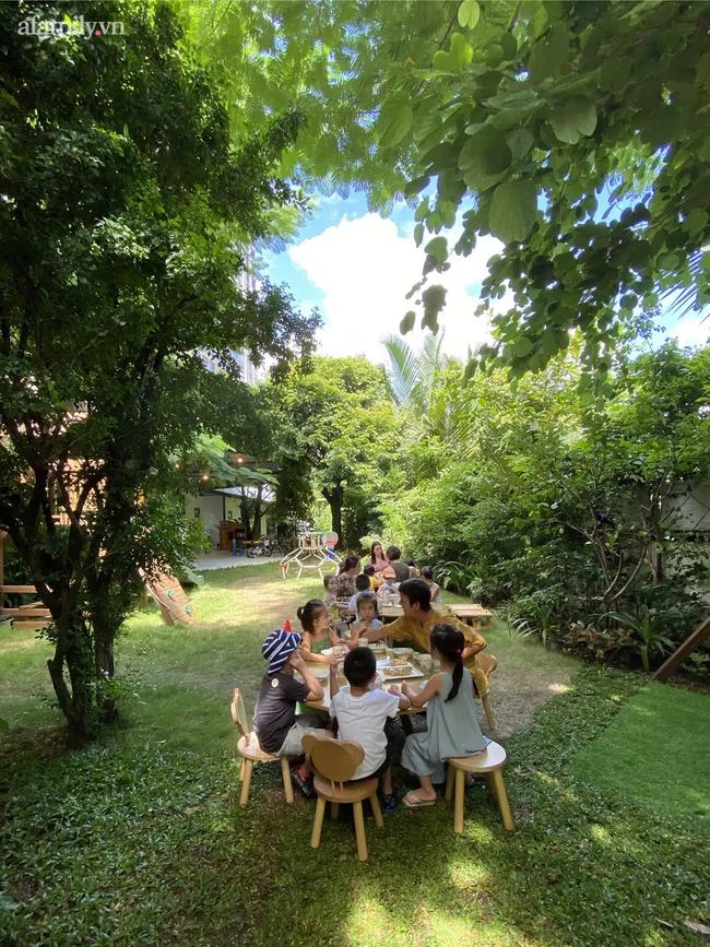 """""""Ngôi trường trong mơ"""" mới toanh giữa trung tâm Sài Gòn, cả không gian là một tác phẩm nghệ thuật, thức ăn được bày trí như khách sạn 5 sao - Ảnh 4."""