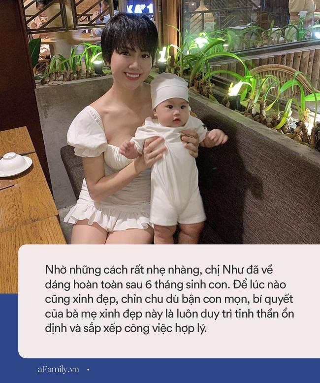 """Bầu bí tăng 22kg cũng không """"đánh bại"""" được nhan sắc của mẹ bỉm sữa xinh đẹp, sinh xong  6 tháng nhìn """"như chưa từng đẻ"""" - Ảnh 6."""