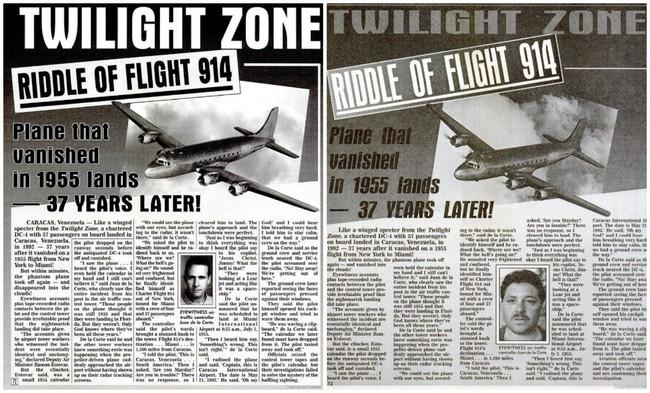 Bí ẩn chuyến bay định mệnh chở theo 57 hành khách đột ngột mất tích trên không trung rồi lại xuất hiện đáp đất gần 40 năm sau - Ảnh 2.