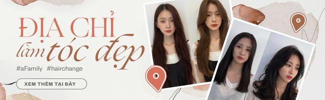 6 salon tóc sao Việt vừa check-in: Xem để biết Hari Won uốn phồng ở đâu, Hòa Minzy nhuộm xanh ở tiệm nào - Ảnh 14.