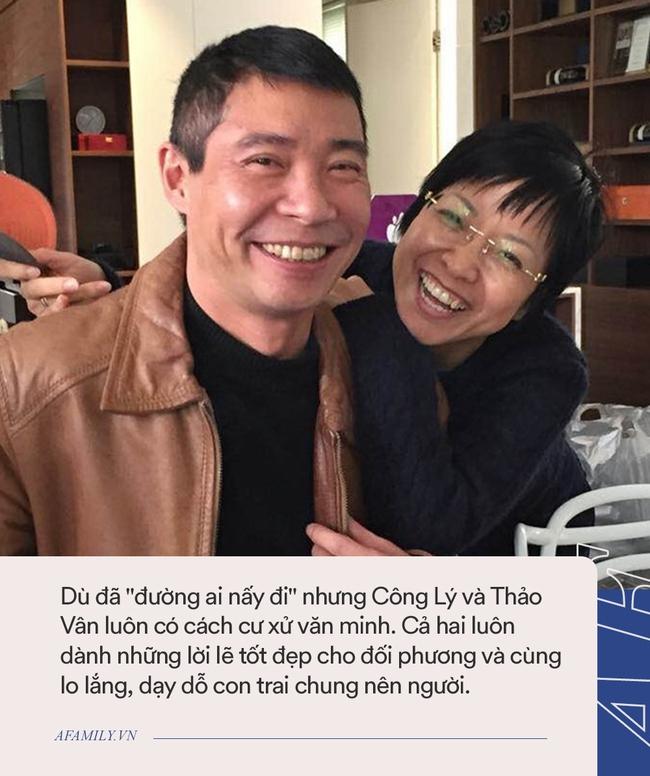 Vài tháng trước khi vợ mới của Công Lý chụp ảnh với Tít, MC Thảo Vân đã nhận xét đúng 5 từ, giờ ngẫm lại càng thấy cô dạy con quá văn minh - Ảnh 4.