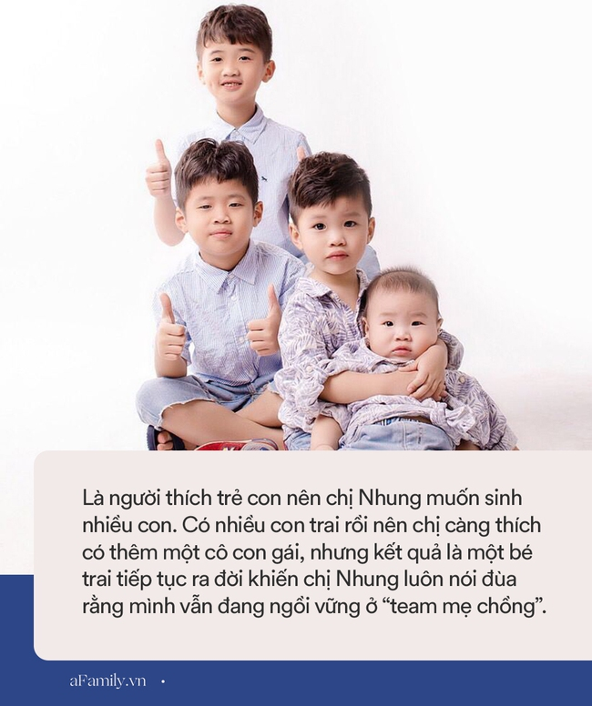 """Mẹ Hưng Yên 8 năm đẻ 4 con, mong mãi cô công chúa nhưng cuối cùng vẫn ngồi vững ở """"team mẹ chồng"""" - Ảnh 4."""