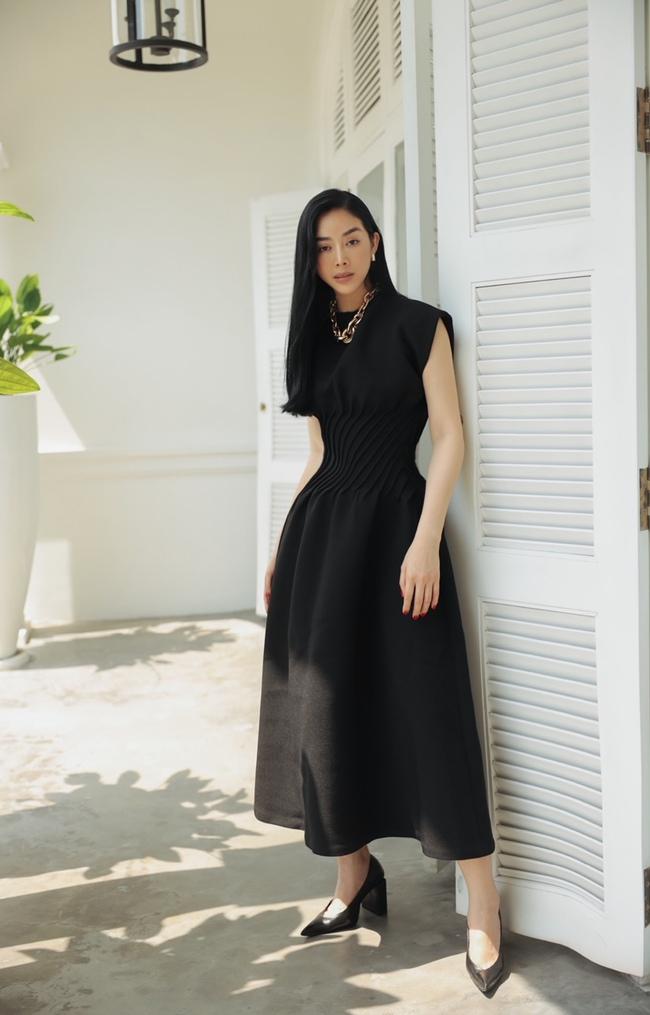 Mai Thanh Hà khoe thân hình đồng hồ cát, tiết lộ bí quyết giữ eo nhỏ xíu - Ảnh 6.