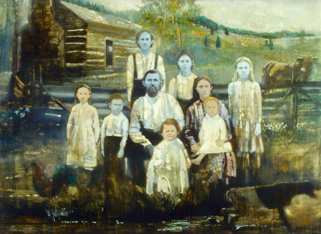 """Bí ẩn căn bệnh làm một gia tộc bị cả thế giới cô lập vì làn da xanh, đi đâu cũng bị gán mác """"người ngoài hành tinh"""" và phải sống tủi nhục - Ảnh 2."""