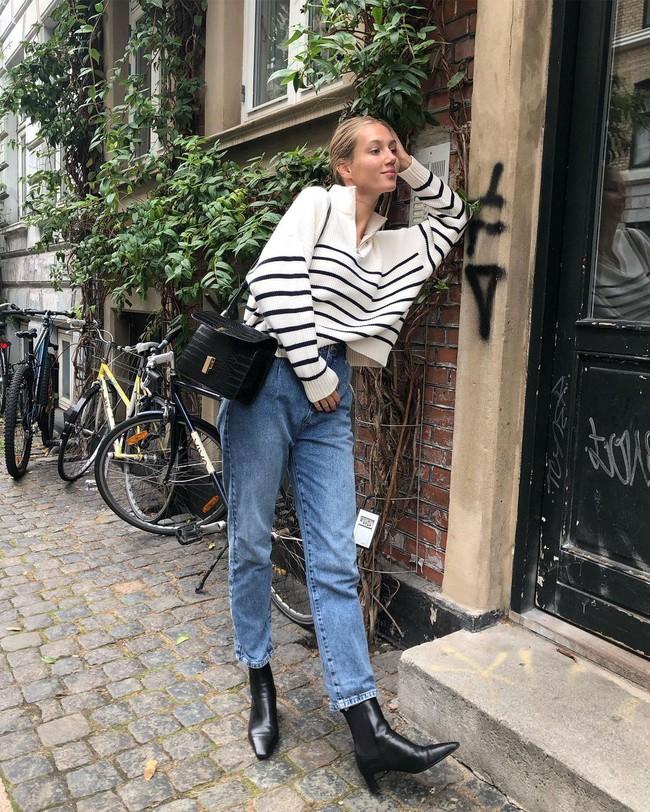 Xem gái Tây diện quần jeans mà thấy được mở mang tầm mắt: 13 cách mặc siêu thanh lịch, xịn đẹp và tôn dáng tối đa - Ảnh 4.