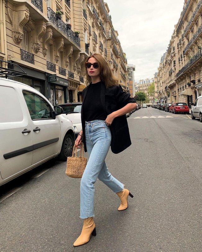 Xem gái Tây diện quần jeans mà thấy được mở mang tầm mắt: 13 cách mặc siêu thanh lịch, xịn đẹp và tôn dáng tối đa - Ảnh 5.