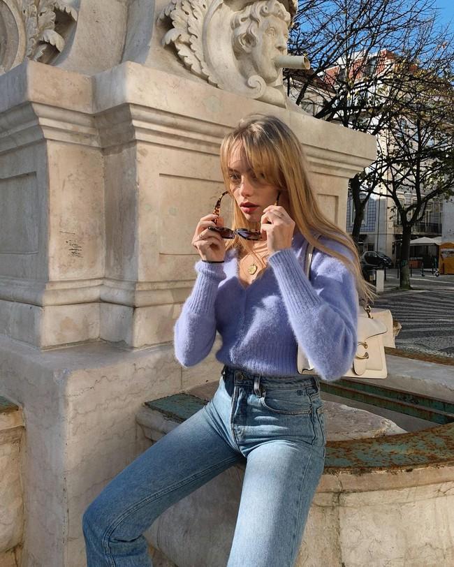 Xem gái Tây diện quần jeans mà thấy được mở mang tầm mắt: 13 cách mặc siêu thanh lịch, xịn đẹp và tôn dáng tối đa - Ảnh 12.