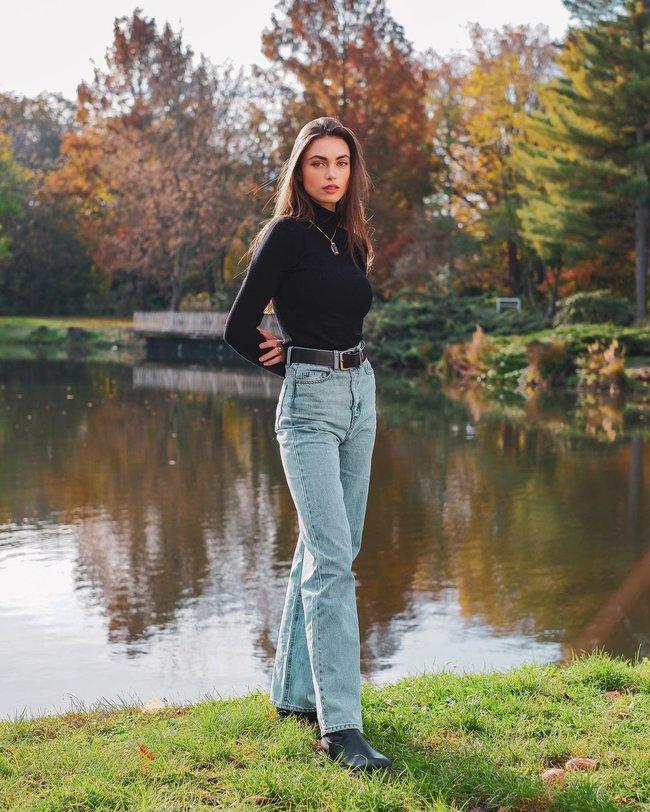 Xem gái Tây diện quần jeans mà thấy được mở mang tầm mắt: 13 cách mặc siêu thanh lịch, xịn đẹp và tôn dáng tối đa - Ảnh 13.