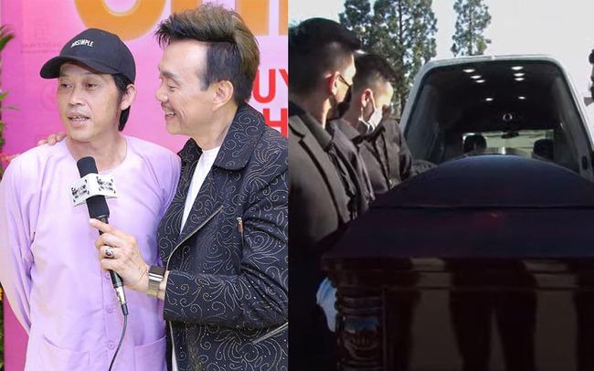 Tang lễ cố nghệ sĩ Chí Tài tại Mỹ: Vợ cố nghệ sĩ Chí Tài lưu luyến nhìn mặt chồng lần cuối trước khi nắp quan tài được đóng lại - Ảnh 13.