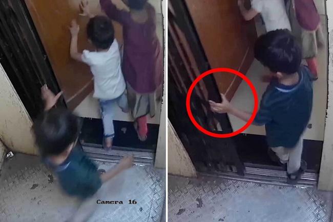 3 đứa trẻ lon ton vào thang máy mà không có người lớn đi cùng, cậu bé 5 tuổi bị thang máy đè chết thương tâm, hiện trường vụ việc gây ám ảnh - Ảnh 4.
