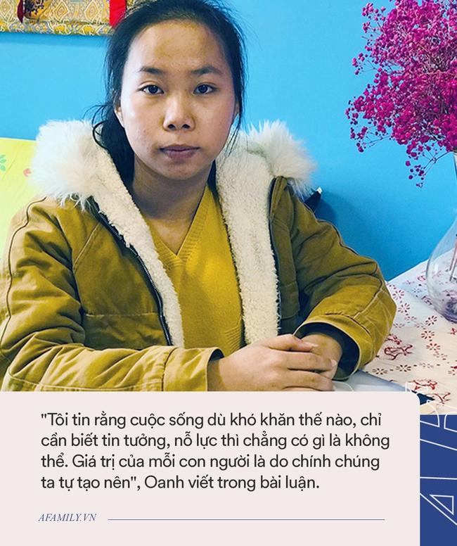 Nữ sinh Nghệ An sáng đi nhặt ve chai kiếm tiền nuôi gia đình, đêm học bài đến 4 sáng: Trúng học bổng 1 tỷ đồng, kế hoạch tương lai mới bất ngờ - Ảnh 1.
