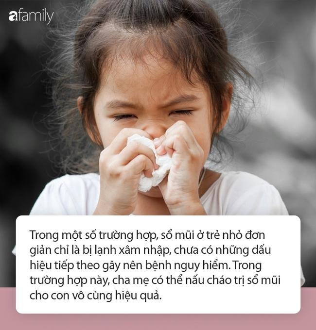 3 món cháo được mệnh danh là thuốc trị chứng sổ mũi cực hiệu nghiệm cho trẻ, mùa đông này cha mẹ nên dắt túi ngay - Ảnh 1.