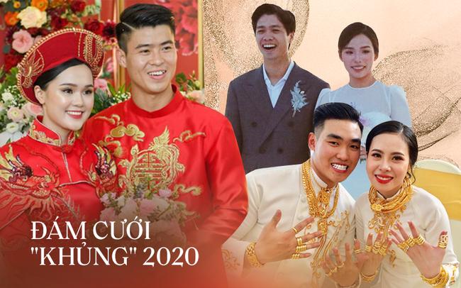 """Năm 2020 với hàng loạt đám cưới khủng: Duy Mạnh, Công Phượng tổ chức hôn lễ sang chảnh nhưng hồi môn """"dễ sợ"""" nhất lại thuộc về đám cưới Sài Gòn! - Ảnh 1."""