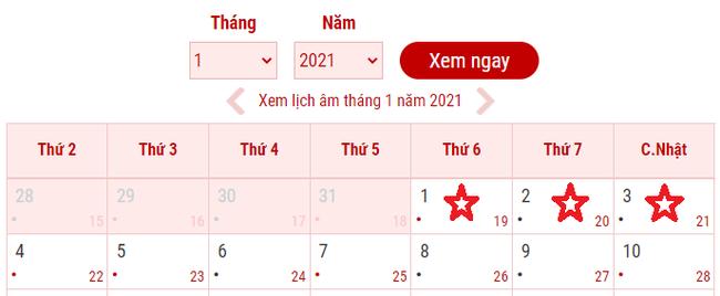 Người lao động được nghỉ bao nhiêu ngày Lễ, Tết trong năm 2021? - Ảnh 1.