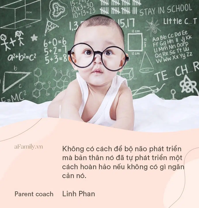 Cha mẹ cứ tới tấp đăng kí cho con học các lớp phát triển não bộ, parent coach Linh Phan đưa ra ý kiến bất ngờ - Ảnh 2.