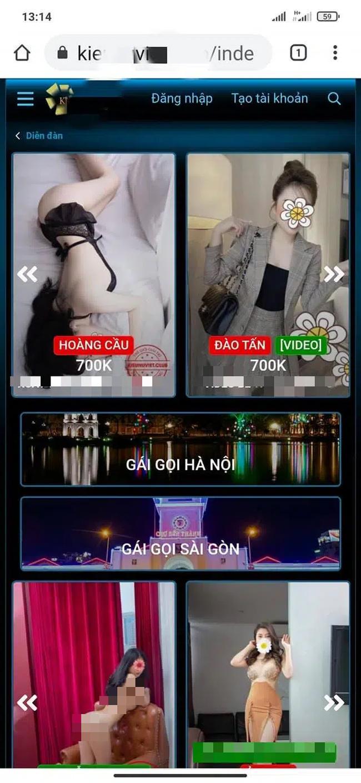 """Hà Nội: Bắt """"lão phật gia"""" chuyên môi giới mại dâm - Ảnh 2."""