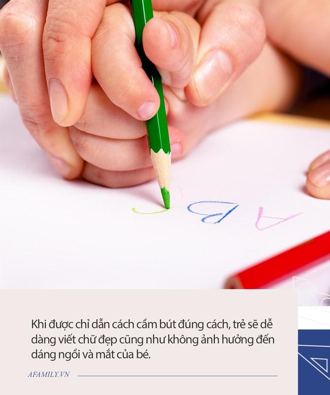 Cô giáo tiểu học chia sẻ ba mẹo siêu hay giúp khắc phục lỗi cầm bút sai ở học sinh tiểu học  - Ảnh 5.