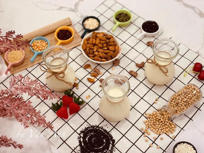"""Admin đình đám hội làm sữa hạt chia sẻ """"tất tần tật"""" bí quyết để làm sữa hạt ngon - khoa học - Ảnh 2."""